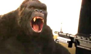 Lính Mỹ nã súng giết khỉ Kong trong bom tấn quay ở Việt Nam