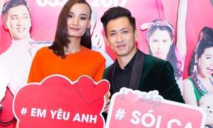 Lê Thúy tỏ tình với chồng Việt kiều ở sự kiện