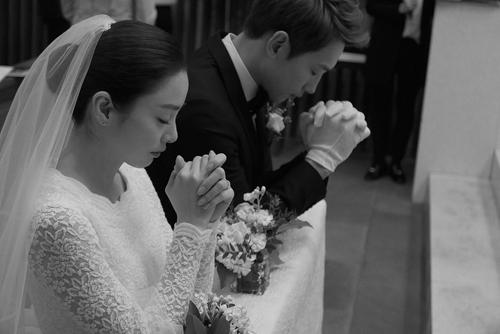 Vợ chồng Rain - Kim Tae Hee.