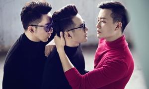 Lương Mạnh Hải tái hiện chuyện tình đồng tính tay ba qua ảnh