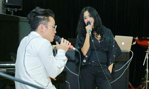 Thanh Lam và Tùng Dương say sưa tập nhạc