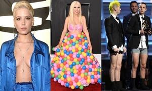 Những thảm họa thời trang ở Grammy 2017