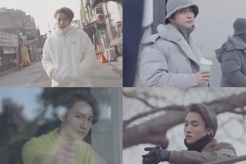 Hình ảnh đậm chất Hàn của nam ca sĩ trong MV.