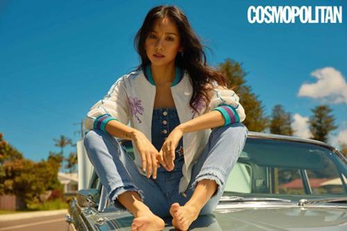 Người đẹp chia sẻ trên Cosmopolitan từ đáy lòng, cô vô cùng biết ơn người hâm mộ.