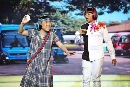 Tập hai chương trình Cặp đôi hài hước phát sóng tối 15/2.
