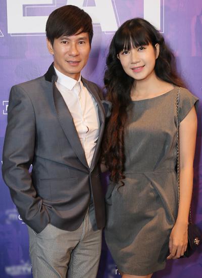 Vợ chồng ca sĩ Lý Hải (trái) - Minh Hà