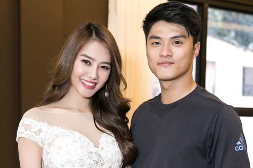 Lâm Vinh Hải xuất hiện trong buổi khai trương nhà hàng chay của Linh Chi cách đây vài ngày.