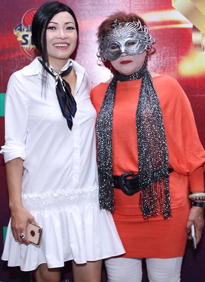Phương Thanh và một trong những thí sinh mà chị đánh giá cao ở cuộc thi.