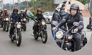 MC Anh Tuấn cùng 160 môtô diễu hành tưởng nhớ Trần Lập