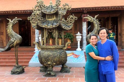 Ngọc Huyền vừa từ Mỹ trở về nước để tập luyện cho thí sinh đội mình tại chương trình Đường đến danh ca vọng cổ