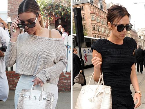 Trên thế giới, một số sao như Kim Kardashian và bà Becks sở hữu dòng túi Birkin này nhờ là khách hàng VIP của Hermes.