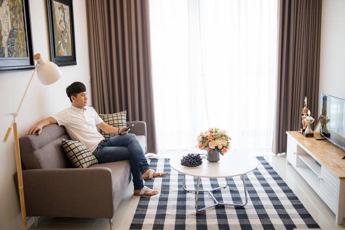 Căn hộ độc thân 5 tỷ đồng của ca sĩ Châu Gia Kiệt