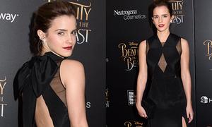 Emma Watson đẹp nhất tuần với đầm xẻ ngực, khoe lưng