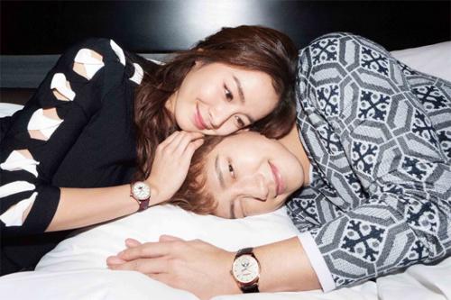 Kim Tae Hee - Bi Rain là gương mặt trang bìa của tạp chí Bazaar (ấn bản Hàn Quốc) số tháng 4.