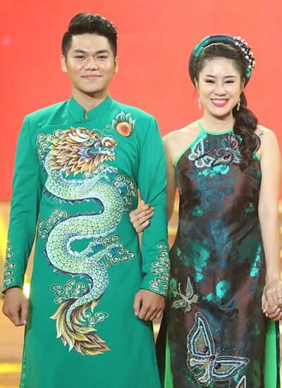 le-phuong-xam-ten-chong-sap-cuoi-tren-vai