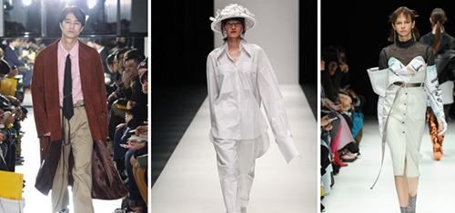Thiết kế của Công Trí được làm hình ảnh đại diện cho nhóm các nhà thiết kế châu Á nước ngoài tham gia Tuần thời trang Tokyo