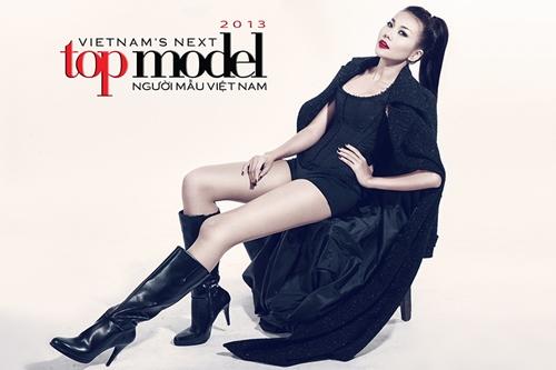 Thanh Hằng làm giám khảo Vietnam Next Top Model.