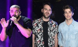 Drake, The Chainsmokers thống trị đề cử Billboard 2017
