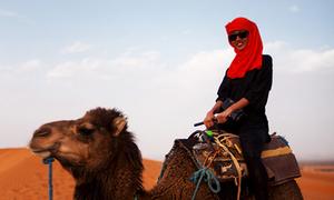 Suboi khám phá sa mạc Sahara