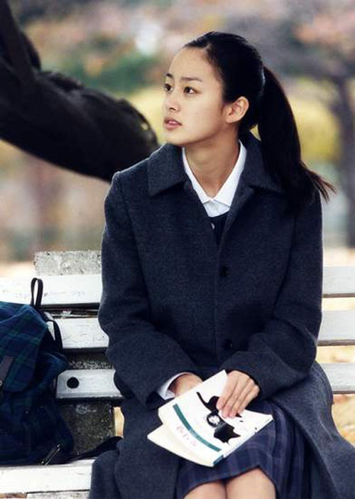 Nhan sắc Kim Tae Hee biến đổi qua 17 năm