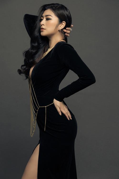 Thanh Trúc diện đồ sexy sau khi giảm 8 kg