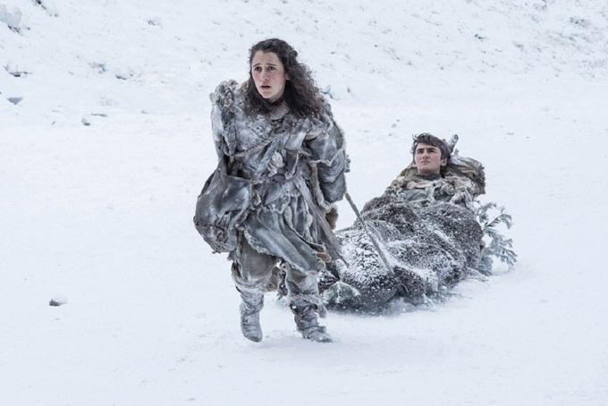 Mẹ Rồng lo âu trước trận chiến quyết định trong 'Game of Thrones'