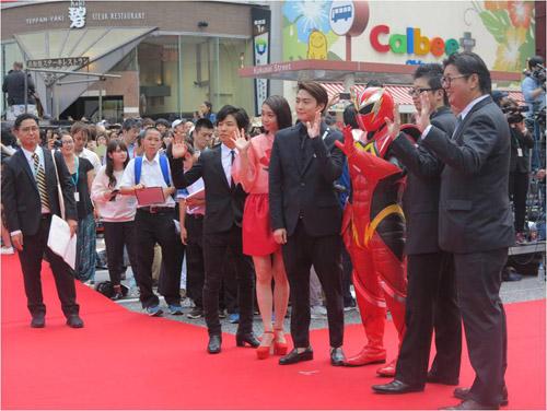 Sự kiện có sự tham gia của rất nhiều ngôi sao đến từ châu Á.
