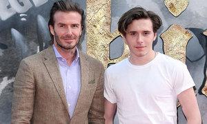Con trai 18 tuổi cao ngang ngửa David Beckham trên thảm đỏ
