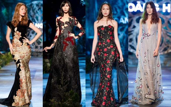 Váy couture của Hoàng Hải được đấu giá 17.000 USD