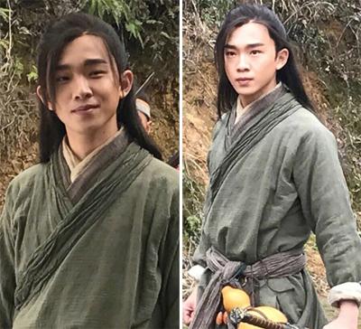 Theo Kknews, Đinh Quán Sâm đóng chính trong Tiếu ngạo giang hồ - phim võ hiệp đang trong quá trình quay ngoại cảnh.
