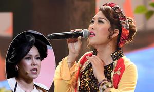 Phi Thanh Vân hát dân ca khiến Việt Hương toát mồ hôi