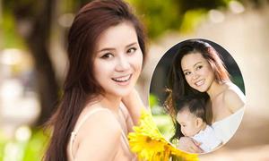 Vy Oanh: 'Tôi ít lộ diện khi mang bầu vì sợ bị chê xấu'