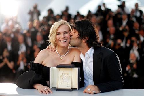 Nữ diễn viên xuất sắc Diane Kruger cùng Fatih Akin - đạo diễn In the Fade.