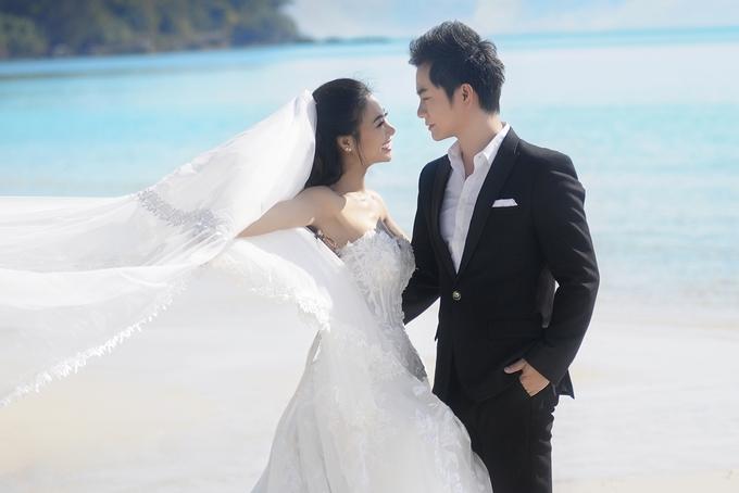 Ca sĩ Duy Trường chụp ảnh cưới trên biển Phú Quốc