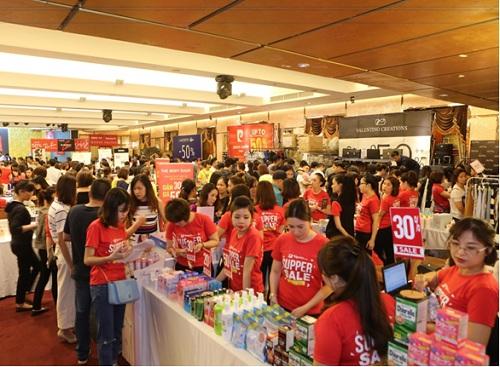 Sự kiện VStyles Private Sale vừa được tổ chức tại Hà Nội vào ngày 22-23/4 vừa qua.