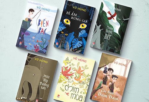 Sáu tác phẩm vừa tái bản của nhà văn Vũ Hùng.