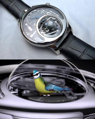 Đồng hồ đeo tay có tiếng chim hót đầu tiên trên thế giới.