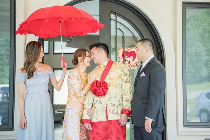Á hậu Hong Kong 2007 và bạn trai kết hôn sau 11 năm yêu