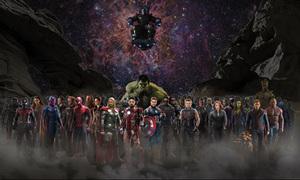 'Avengers: Infinity War' có cảnh hành động với 32 nhân vật