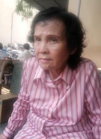 Nghệ sĩ Kim Hoàng thời gian chăm sóc bệnh cho cố nghệ sĩ Như Mai.
