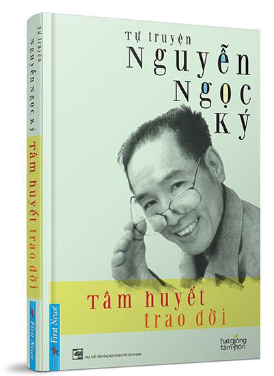 Bìa tự truyện Nguyễn Ngọc Ký.
