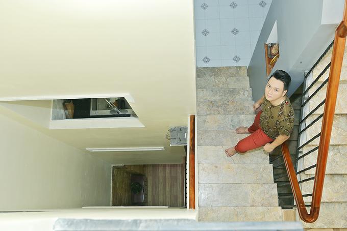 Nhà 100 m2 ở Sài Gòn của Hàn Thái Tú