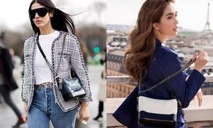 Túi 'lang thang' Chanel - vua phụ kiện của Xuân Hè 2017