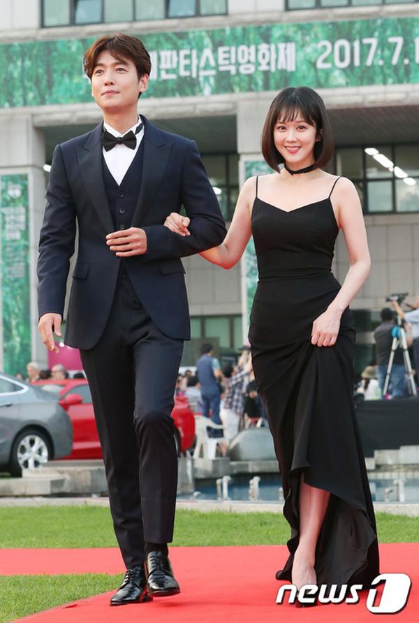Jang Nara khoe nhan sắc U40 trên thảm đỏ