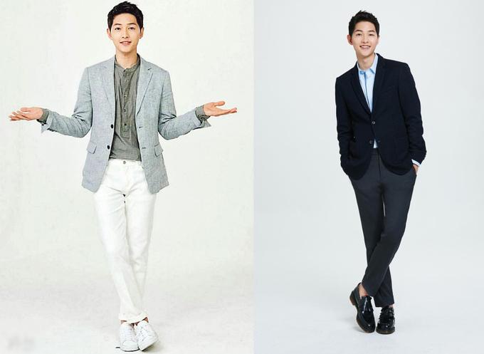 Gu thời trang khỏe khoắn của Song Joong Ki