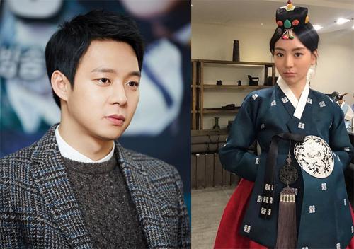 Hwang Ha Na từng đăng trên trang cá nhân ảnh cô thử trang phục cưới.