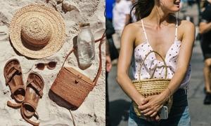 Túi cói bùng nổ hè 2017