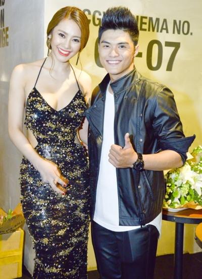 Lâm Vinh Hải và bạn gái mới - người mẫu Linh Chi.