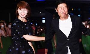 'Nữ hoàng sexy' Kim Hye Soo đi xem phim của tình cũ