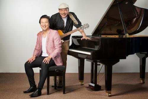 Thanh Bùi và Trần Tiến cùng đảm nhận vai trò giám khảo trong cuộc thi Thần đồng âm nhạc dành cho trẻ em.